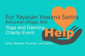 Yoga and Dancing Charity events and workshops