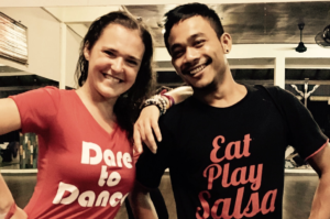 Ola and Agung Bachata events and workshops